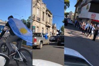 Video: En Entre Ríos también hubo caravanas contra el Gobierno Nacional