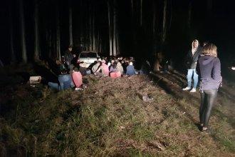 Noche movida en Federación: Intervinieron en cuatro fiestas clandestinas e identificaron a casi 300 personas
