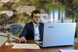 Capital intelectual, en función de productividad: joven entrerriano que expuso en Termatalia explica su teoría
