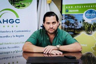 Lapiduz fue reelecto presidente de la Asociación Hotelera y Gastronómica de Concordia y la región