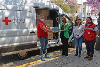 Entre Ríos recibió insumos sanitarios y elementos de protección por parte de la Cruz Roja Argentina