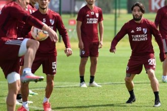 Post Coronavirus: Casco se reintegró a los entrenamientos de River Plate