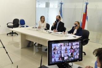 En videollamada con el ministro Arroyo, anunciaron aumento de partidas para comedores escolares