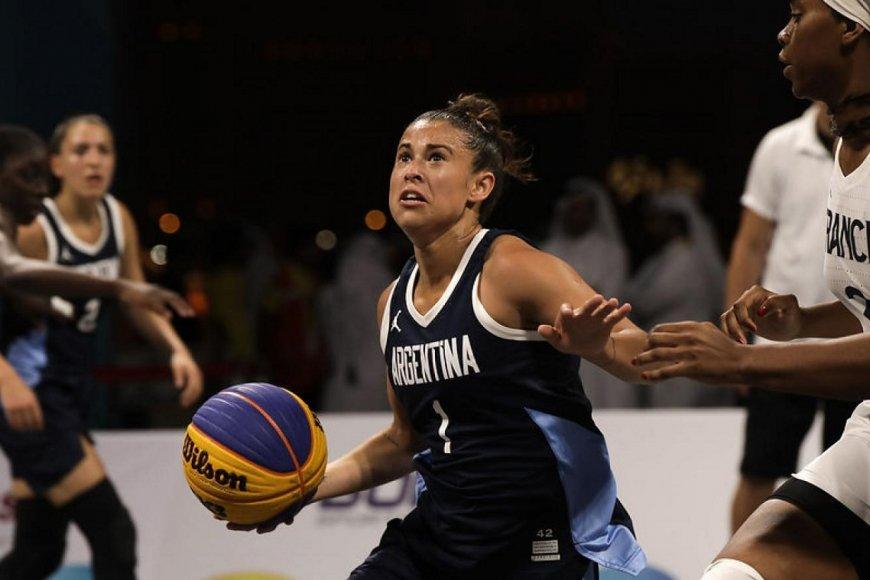 La uruguayense Camila Suárez, de selección.