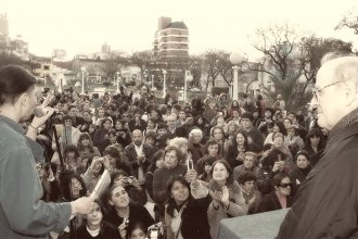 La memorable visita de Quino a la capital entrerriana