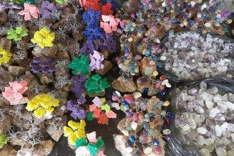 Durante un procedimiento, secuestraron más de 150 kilos de piedras semipreciosas
