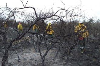 Lucha contra el viento y experiencia en la montaña: emotivo relato de un bombero entrerriano que combatió el fuego en Córdoba