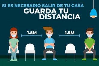 499 entrerrianos dieron positivo al test de coronavirus: Hubo casos en todos los departamentos