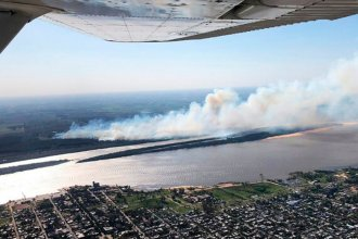El incendio forestal de Colón llegó a la portada de un diario extranjero