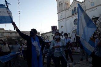 El 12O, la octava marcha contra el gobierno nacional, también se sintió en Entre Ríos