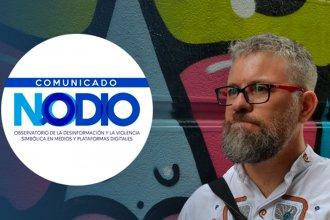 Un integrante de NODIO responde sobre las críticas al Observatorio de las noticias