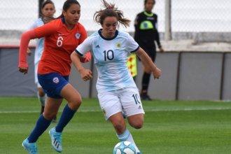 Una entrerriana entrena con la Selección Argentina Sub 17 rumbo al Sudamericano