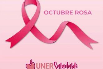 Octubre Rosa: la UNER continúa con la campaña de concientización en las redes