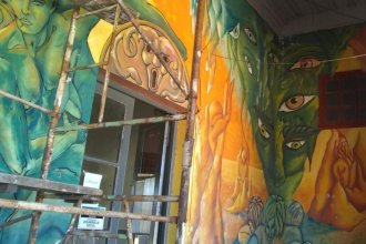 Muralistas acusan a municipio de la costa del Uruguay de destruir una obra