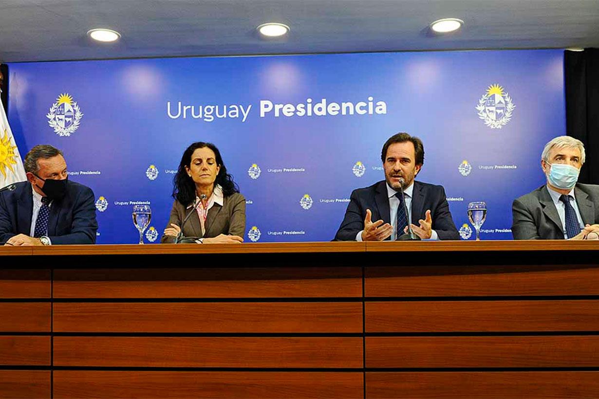 La conferencia de prensa de ayer