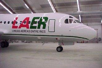 Diputados aprobaron la disolución de la línea aérea estatal de Entre Ríos que desde 2014 no vuela