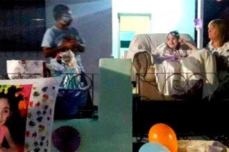 Sufre una grave enfermedad, pero eso no le impidió celebrar sus 15 con un festejo muy especial
