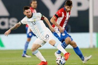 Argentina no pudo doblegar a Paraguay y debió conformarse con el empate