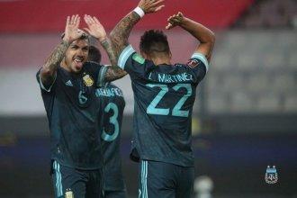 Sólido triunfo de Argentina en Perú