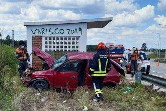 Accidente fatal se cobró la vida de un joven que chocó contra una garita