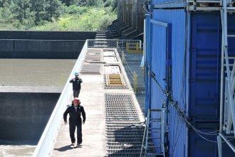Salto Grande hizo una reparación en la Central Hidroeléctrica Baygorria de Uruguay