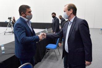 """Para una """"gestión unificada"""", Bordet se reunió con intendentes de la Liga Justicialista"""