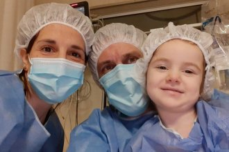 Una buena noticia para Mara: llegó un corazón y será trasplantada