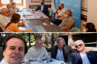Mientras Lacalle Pou y Alberto Fernández compartían un asado, Gualeguaychú volvía a la carga contra UPM