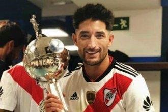 Casco, con la idea de extender su contrato y retirarse en River Plate