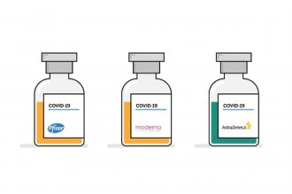Las diferencias entre las vacunas de Pfizer, Moderna y Oxford