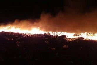 Un incendio de grandes proporciones afectó al Ecoparque de Gualeguaychú