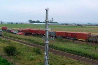 """Un tren de cargas descarriló en la mañana entrerriana: esta vez fue por """"la ciudad del riel"""""""