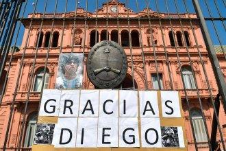 El comunicado de Presidencia de la Nación que fija los horarios del velatorio de Diego Maradona