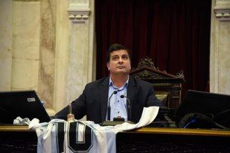 Casaretto ocupó la presidencia de Diputados y quiso que todo el mundo se entere