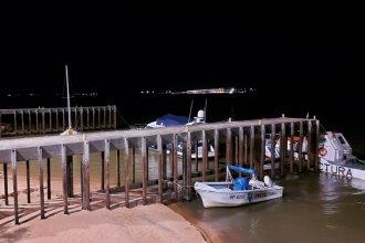Prefectura Salto Grande tiene nueva iluminación, en una inversión hecha por la CTM