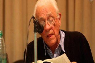 Premiarán la trayectoria de un historiador de 88 años