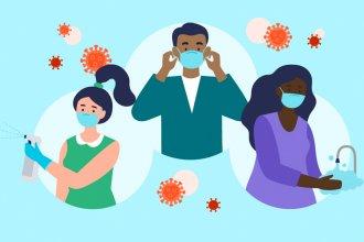 La semana cerró con 7.112 nuevos casos de coronavirus en el país
