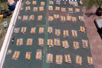Incautaron millonario cargamento de droga a conductor que ingresaba a Entre Ríos