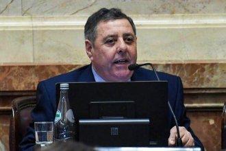 """El proyecto de aborto legal es """"para tapar el ajuste a los jubilados"""", opina el senador De Ángeli"""
