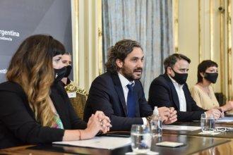 Cafiero firmó acuerdo para que llegue a Concordia el programa Puntos Digitales