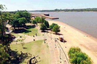 Detectan exceso de coliformes fecales y bacterias en varias playas del Río Uruguay