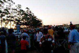 Carrera hípica desencadenó un enfrentamiento entre dos grupos: disparos, heridos y varios detenidos