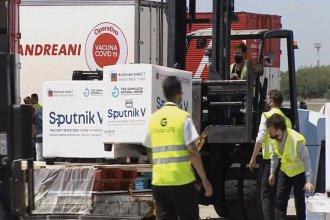 Pusieron fecha a la llegada a Entre Ríos de más de 10000 dosis de la vacuna Sputnik V
