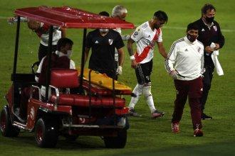Casco se lesionó, no llega al clásico y es duda con Palmeiras