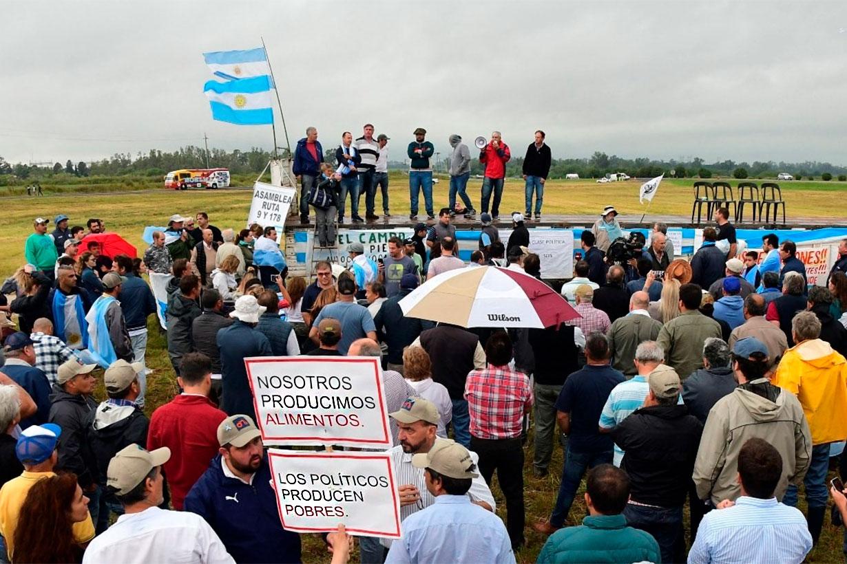 ¿Vuelven las protestas del campo?