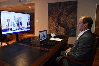 Restricciones nocturnas: Qué dijo Bordet tras la reunión virtual con el presidente