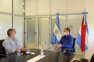 La agenda internacional de Bordet y el embajador Urribarri