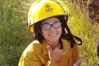 No todos los héroes usan capa: joven bombera le salvó la vida a un compañero de cuartel
