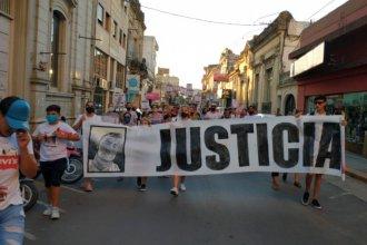 Con dos pedidos, marcharon por el que fue el primer crimen del año en Entre Ríos