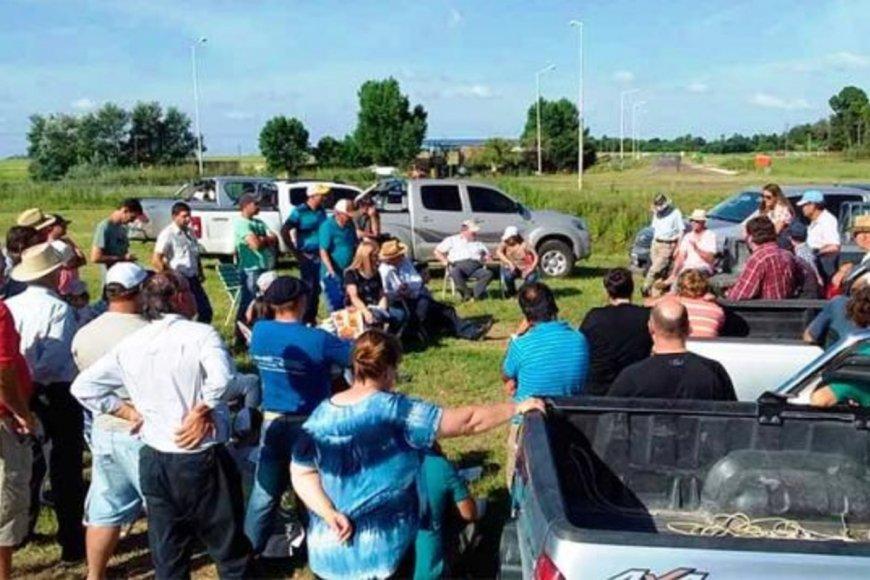 Ruralistas se reúnen esta tarde, en Crespo.